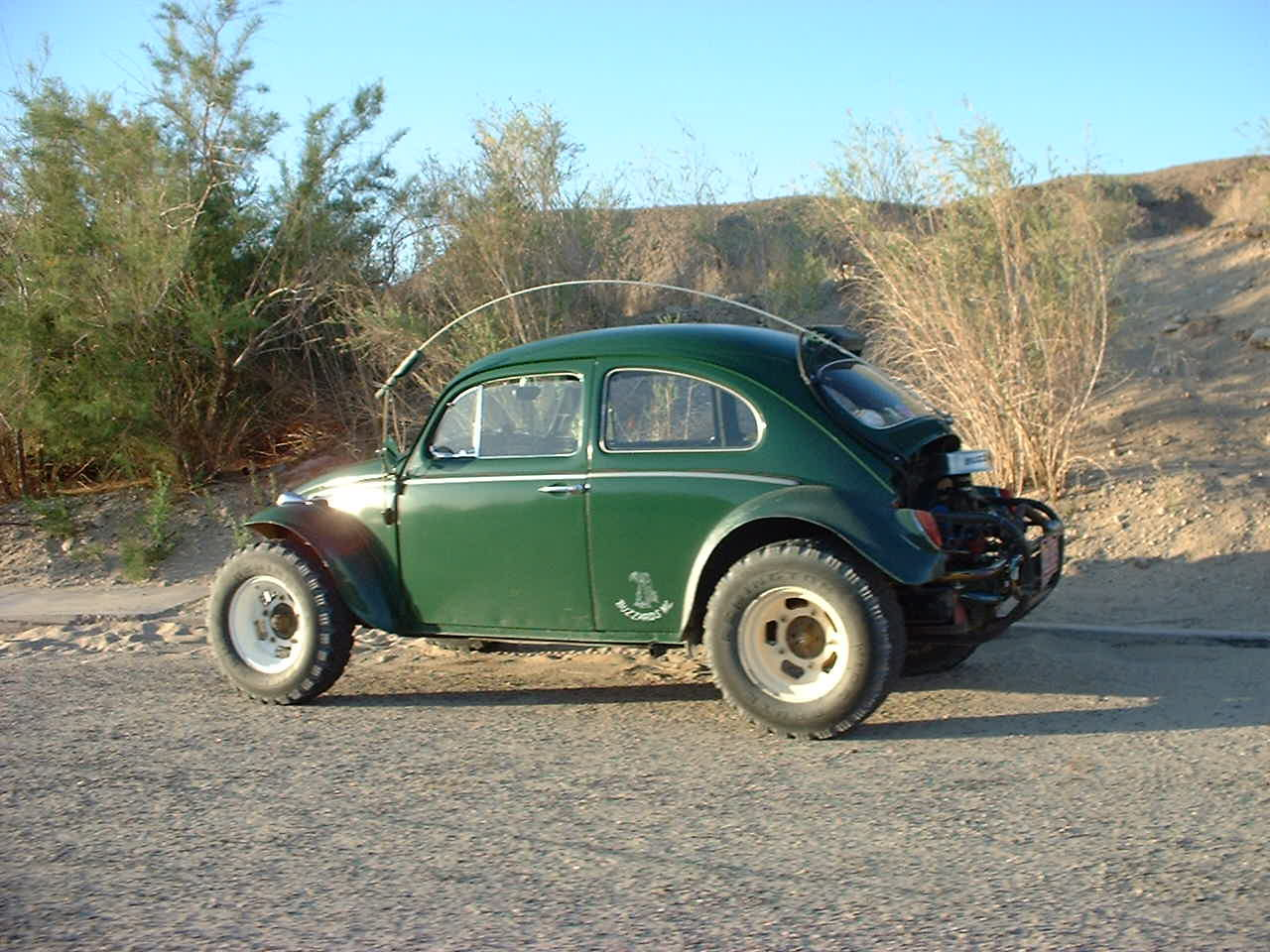 Converted VW Beetle